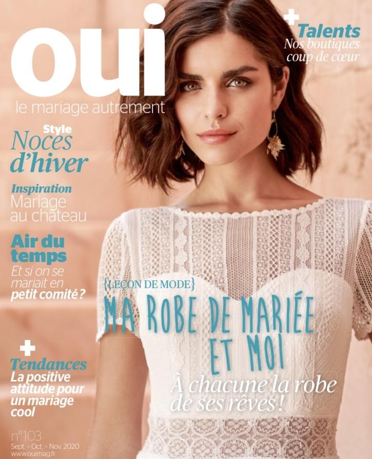 OUI Mag parle de Mademoiselle A DIT OUI, boutique de robes de mariée à Clermont Ferrand